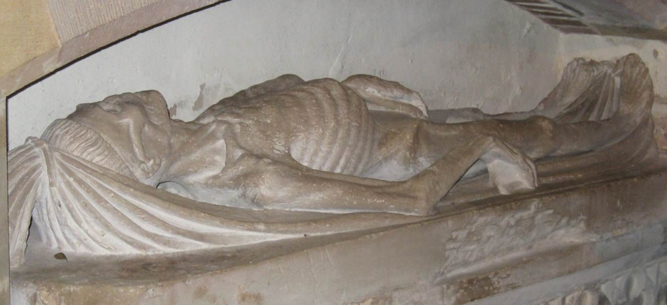 Feniton, unidentified carved cadaver