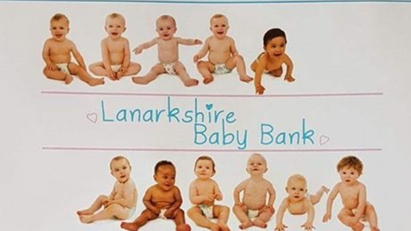 Lanarkshire baby bank 1st Birthday campaign