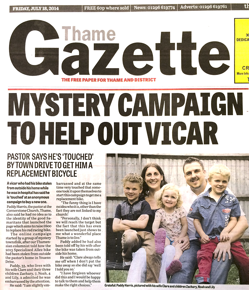 This week's gazette