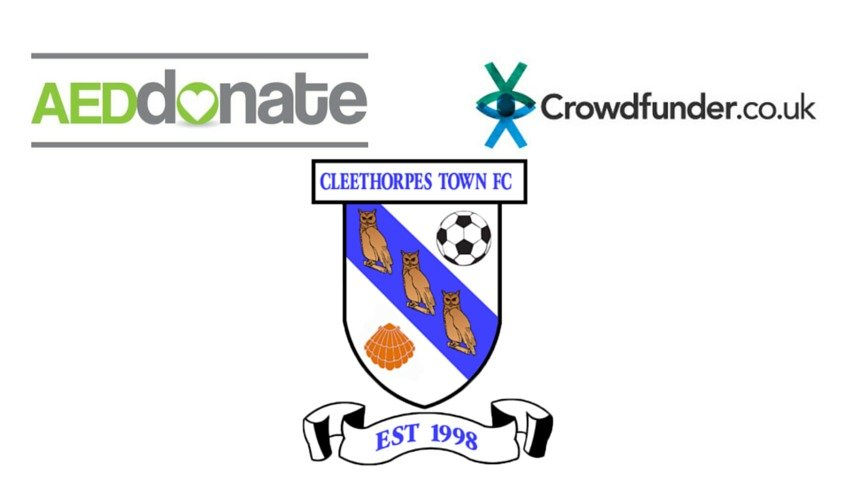 Aed For Cleethorpes Town Fc A Community Crowdfunding Project In