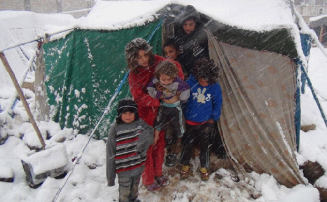 KEEPING SYRIA WARM THIS WINTER