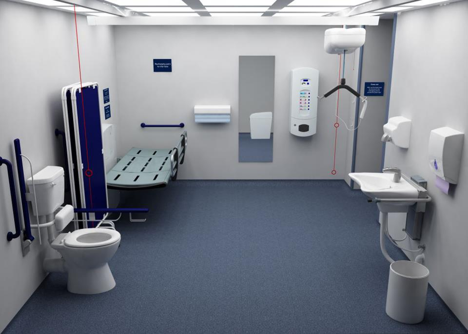 Worthing Town Centre Changing Places Toilet A Community