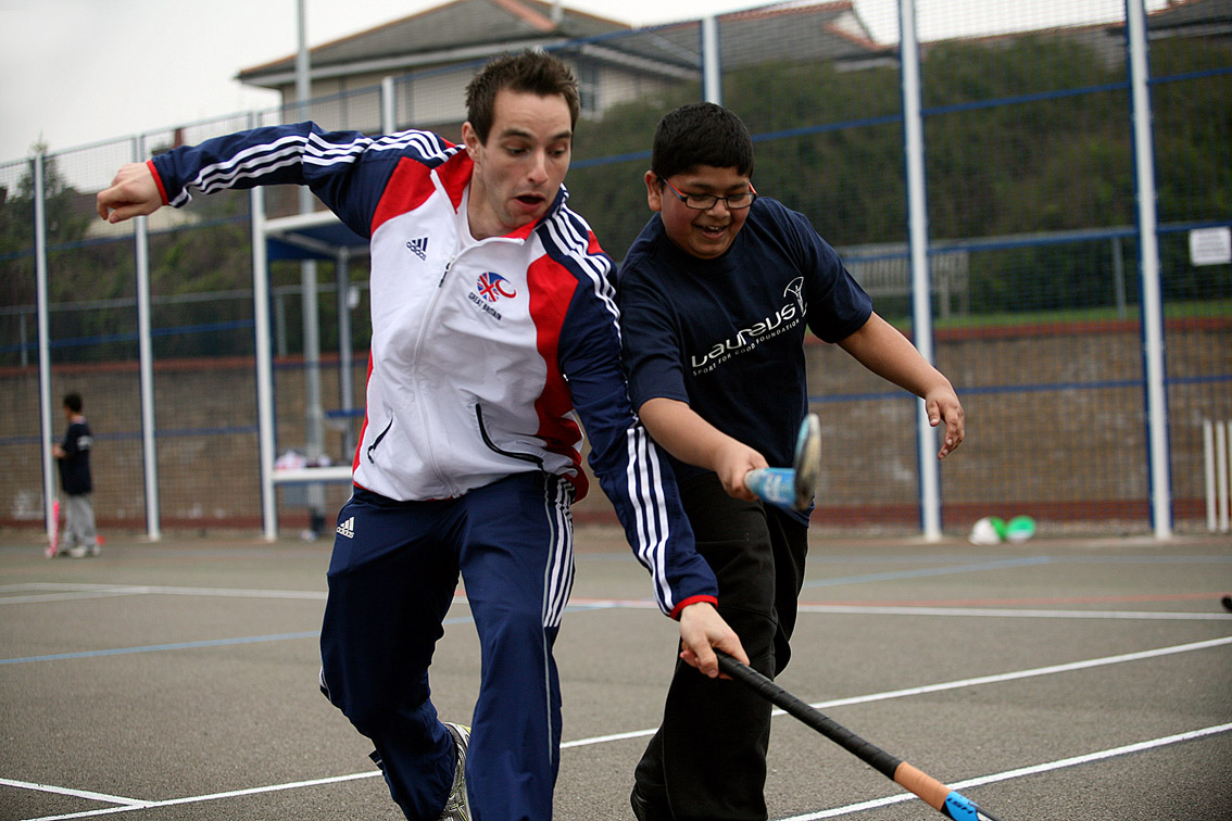 Learning To Play Hockey With Team GB