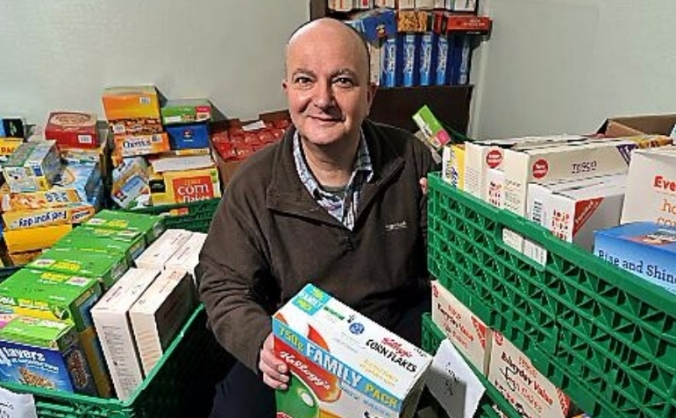 Oldham  food bank community kitchen image