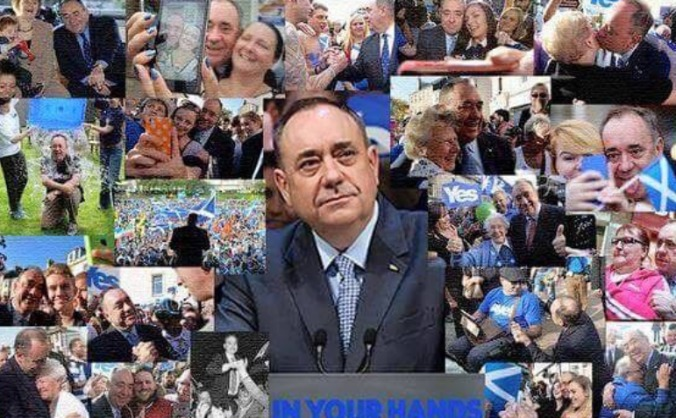 Support alex salmond to win gordon ge 2015 image