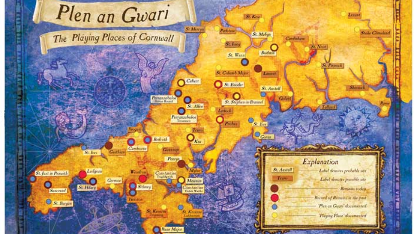 Plen an Gwari - The Playing Places of Cornwall