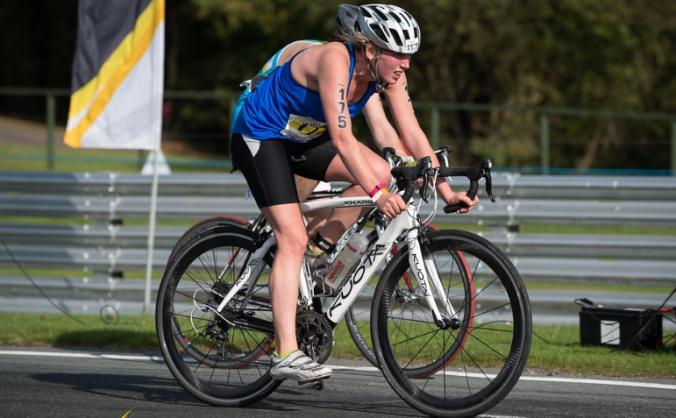 Briony's European Duathlon challenge