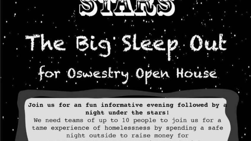 Oswestry Big Sleep Out