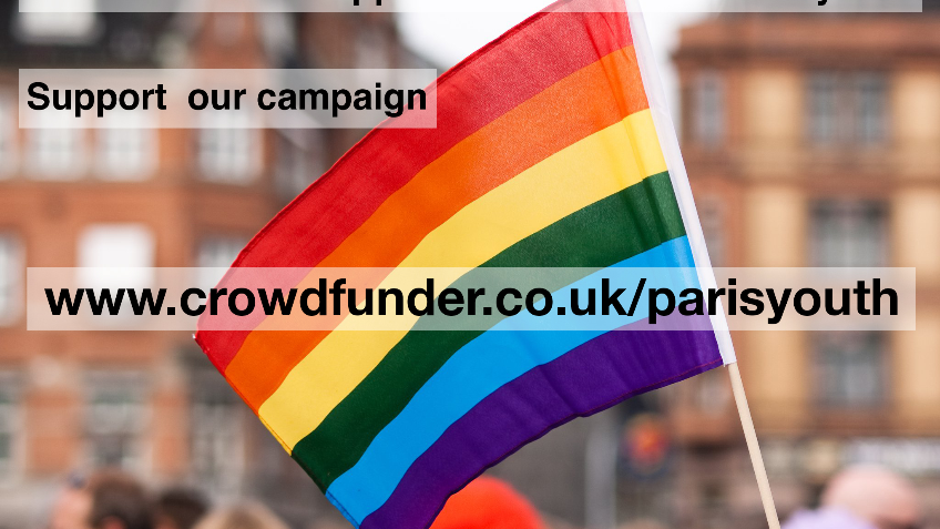 Paris: the ONLY support for Newham LGBT youth