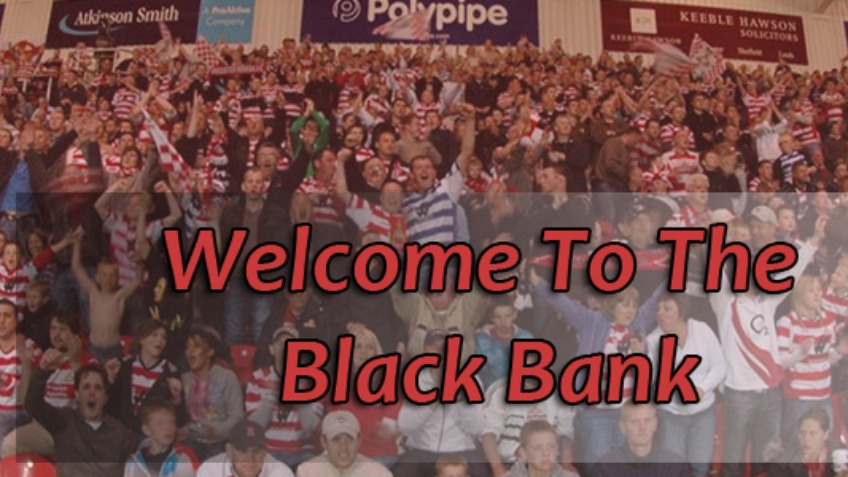 Black Bank Doncaster Rovers Flag Fund