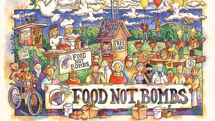 Replace the Food Not Bombs York bike trailer