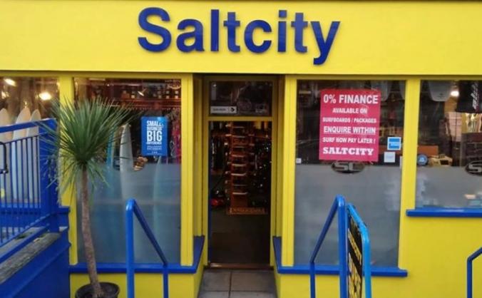 Salt city new website and online shop image