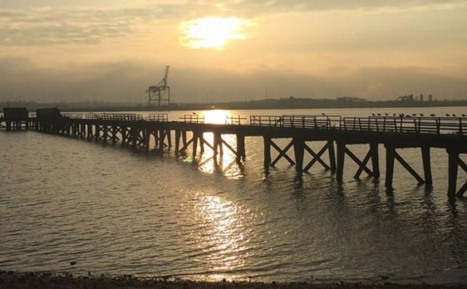 Shotley pier image