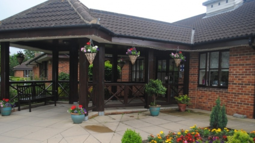 Derham House Care Home - New Garden