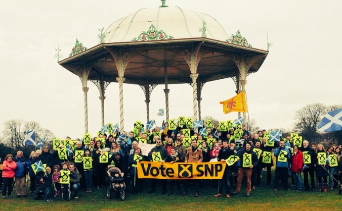 Aberdeen snp general election campaign image