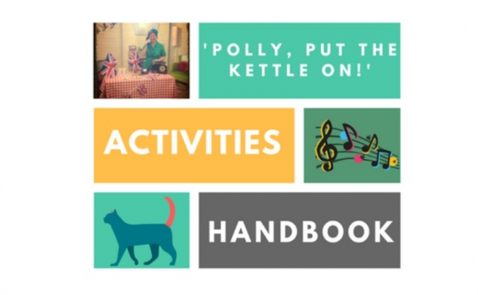 'polly, put the kettle on!' activity handbook image