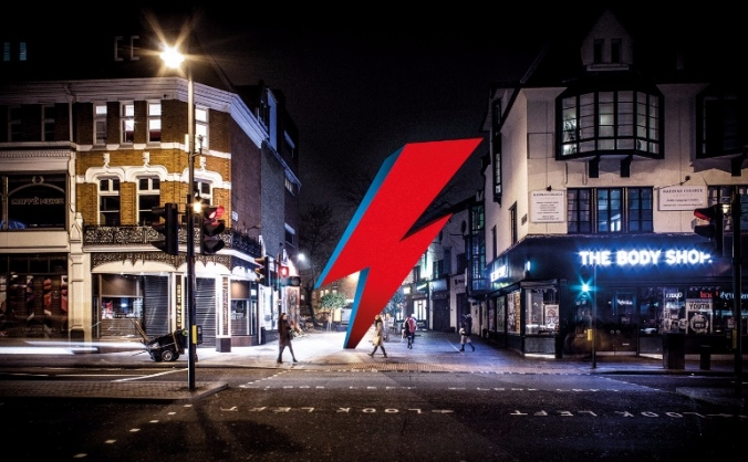 A brixton memorial to david bowie image