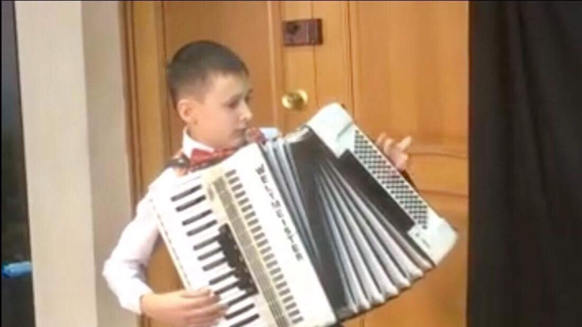 to buy a blind Russian boy , his own accordion - a Arts crowdfunding