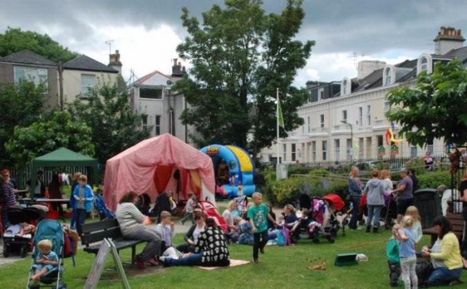 Celebrating community through our local park image