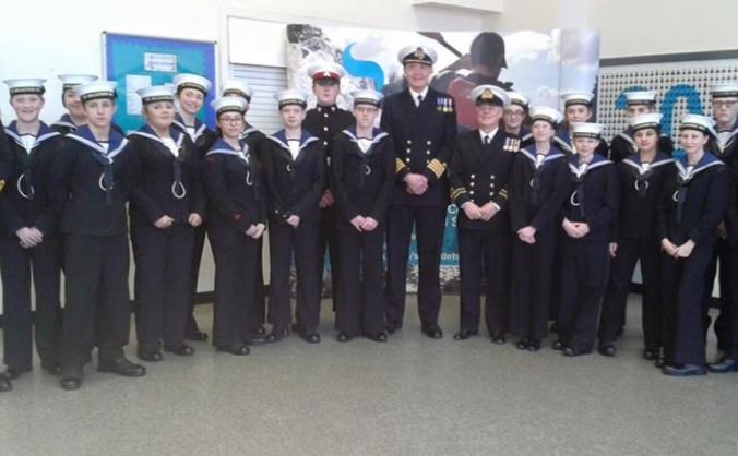 Copley academy sea cadets crowdfunder image