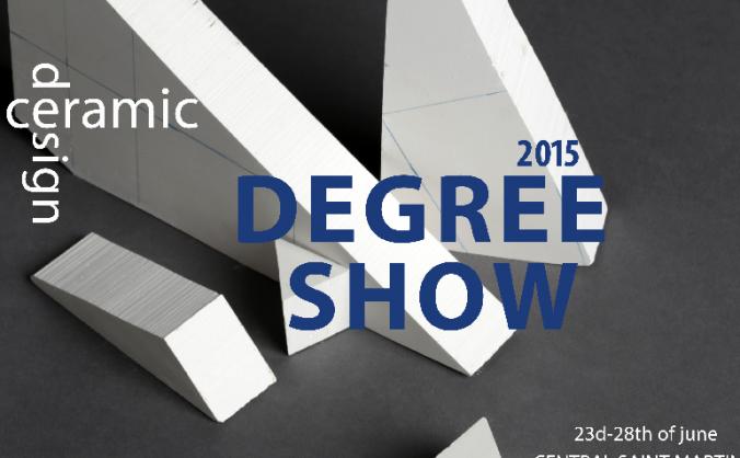 CSM Degree Show Fundraising 2015