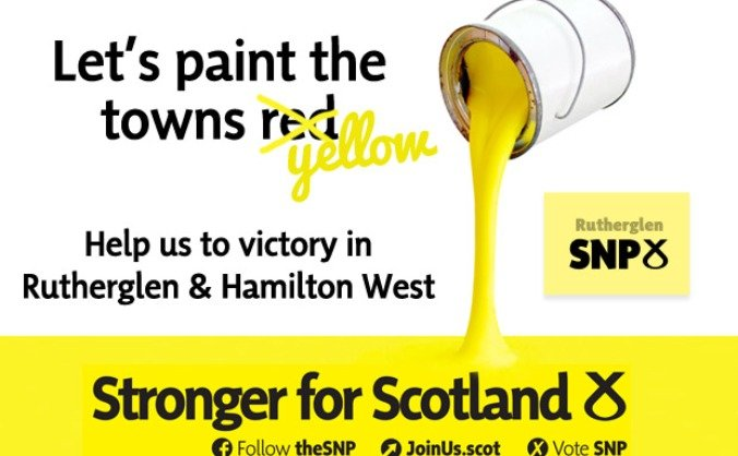Make Rutherglen & Hamilton West an SNP gain