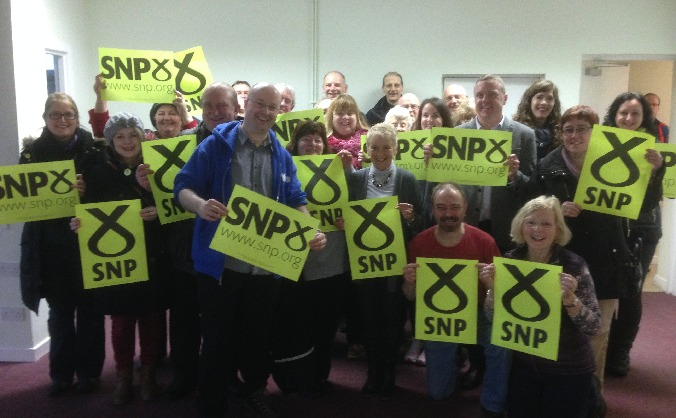 Glasgow North SNP - Campaign Hub Appeal