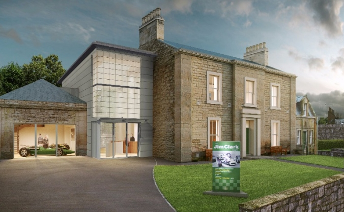 The new jim clark museum image