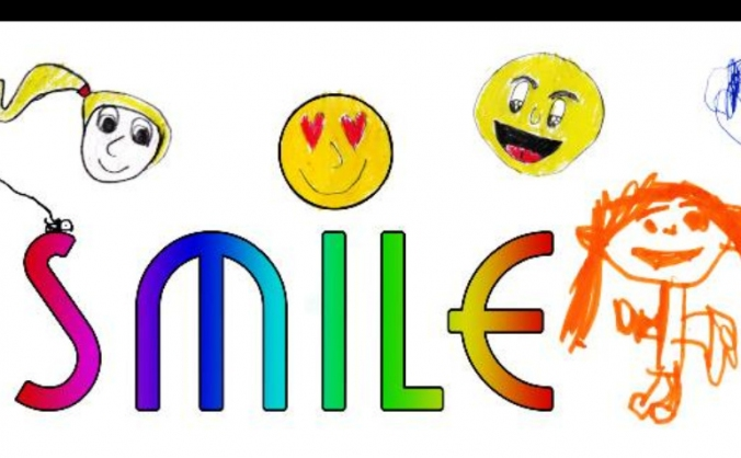Smile  kids with additional needs. image