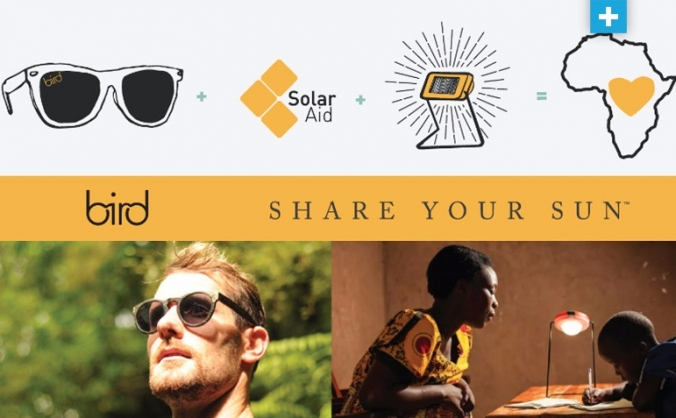 Share your sun - by bird sunglasses image