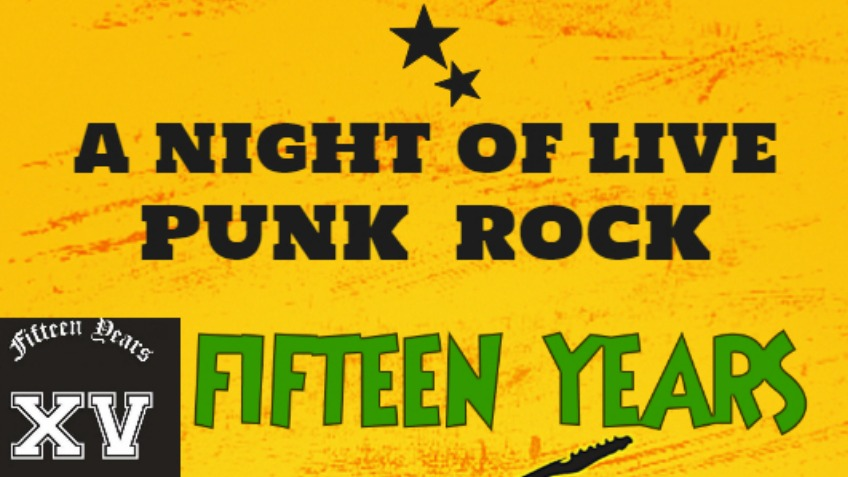 "Live Music Event ""A NIGHT OF LIVE PUNK ROCK"""