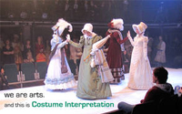 Wimbledon College of Art Costume Interpretation Degree Show 2013