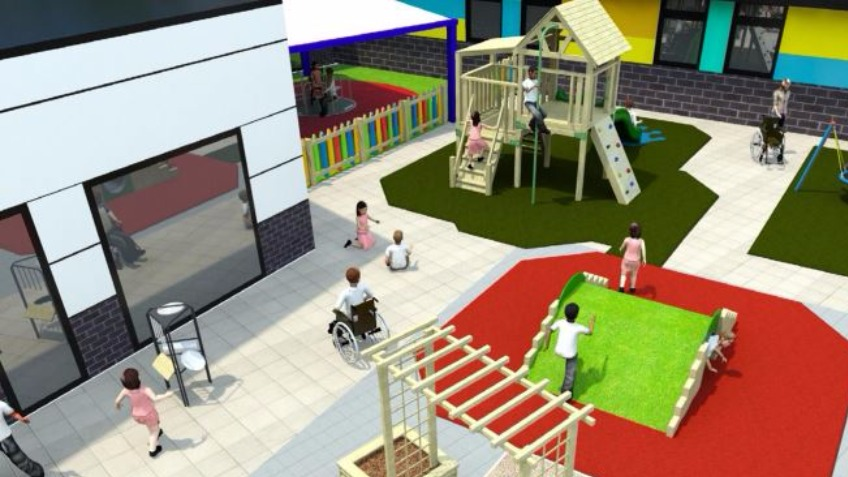 Outdoor Sensory Play Area A Charities Crowdfunding