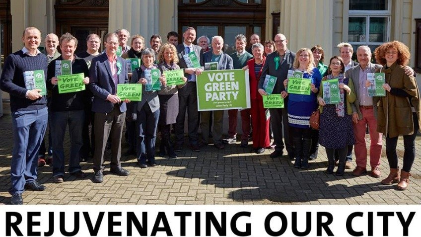 Re-elect Green councillors in Brighton & Hove