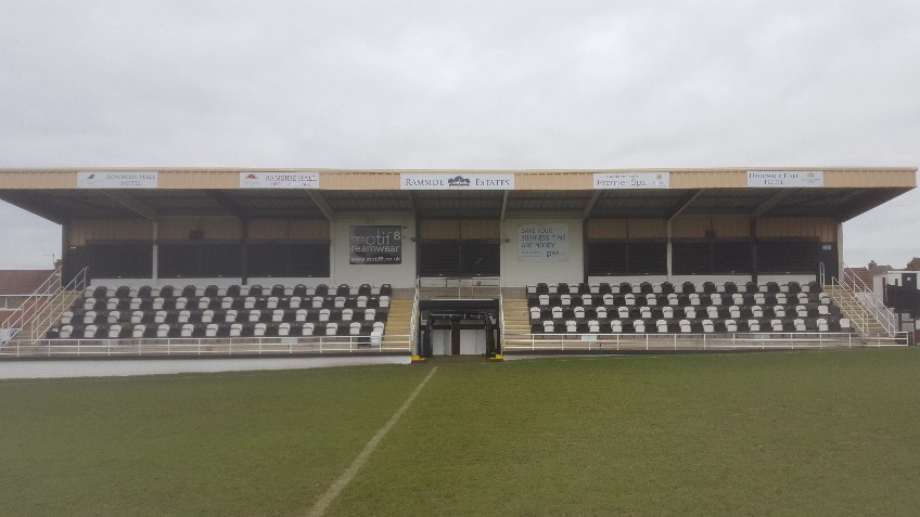Spennymoor Town FC - Main Stand - Fund a Row