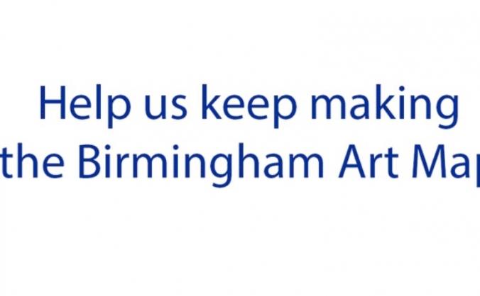 Birmingham art map image