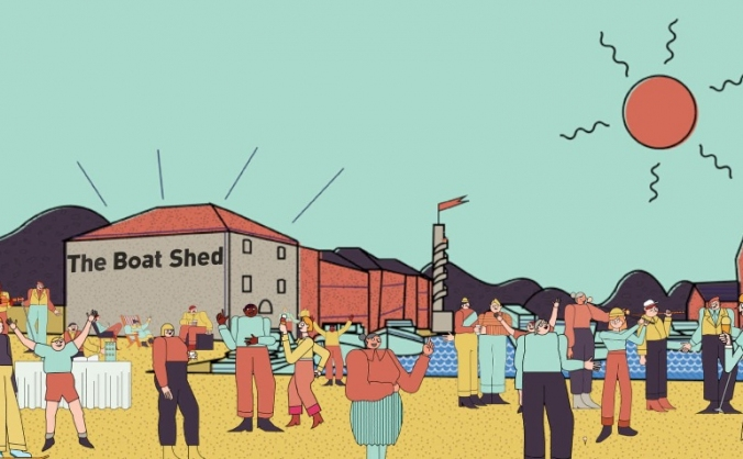 The boat shed pop-up image