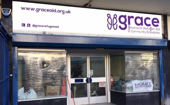 Grace not-for-profit shop and community hub image