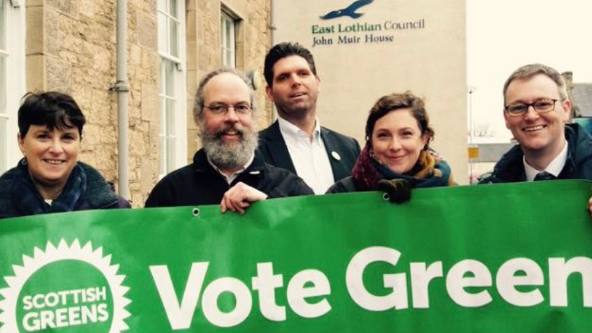 Help elect Green Councillors for East Lothian!