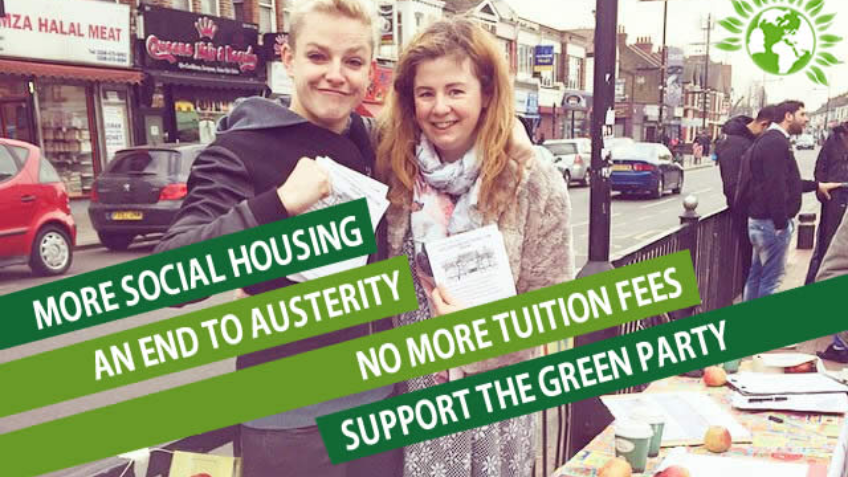 Help save Newham by getting Greens elected