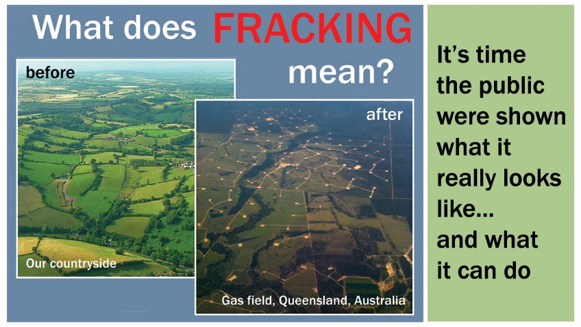 Realities of Fracking Leaflet