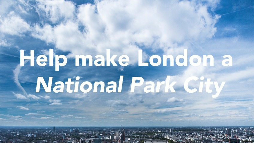 Let's make Greater London a National Park City
