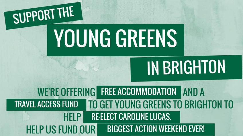Young Greens Action Day in Brighton