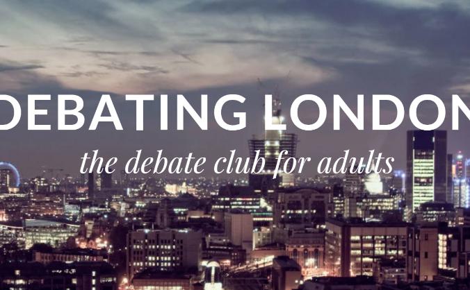 Debating London - The Great Debaters Club