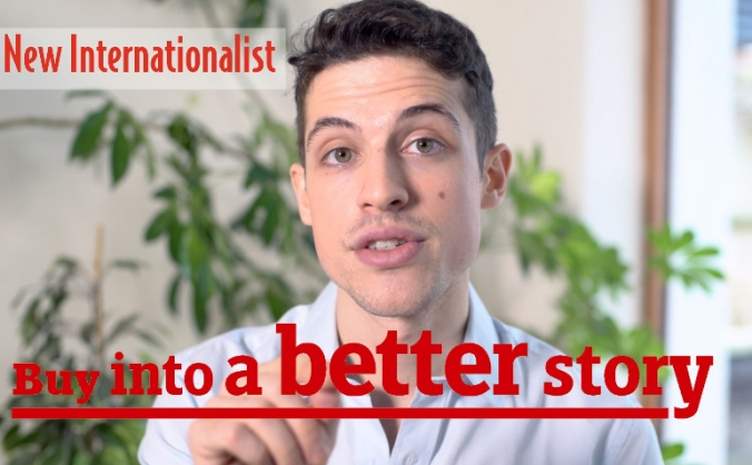 New internationalist: buy into a better story image