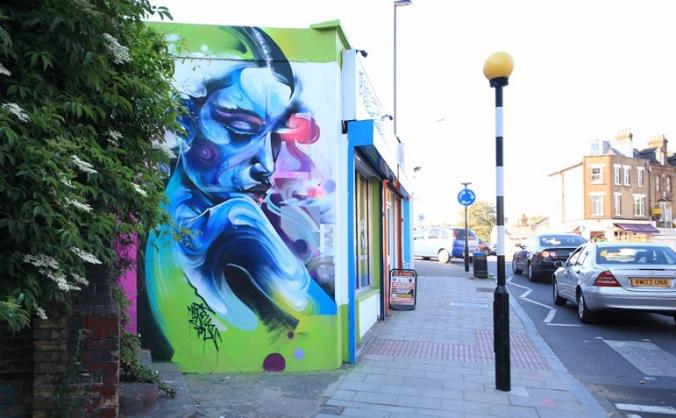 Brockley street art festival image