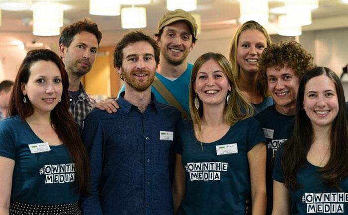 #ownthemedia - positive news community shares image