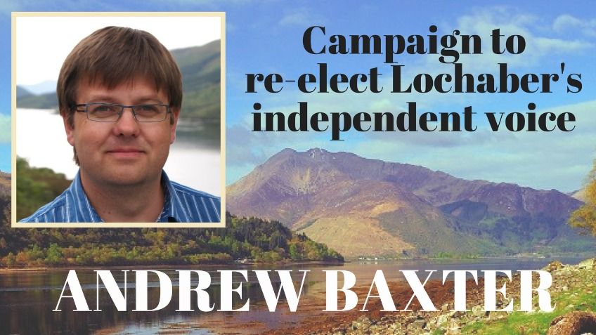 Keep a strong local voice re-elect Andrew Baxter