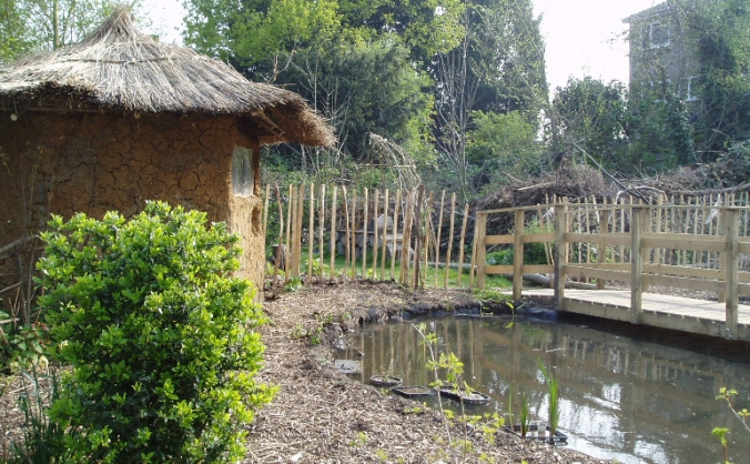 Sydenham garden pond restoration project image