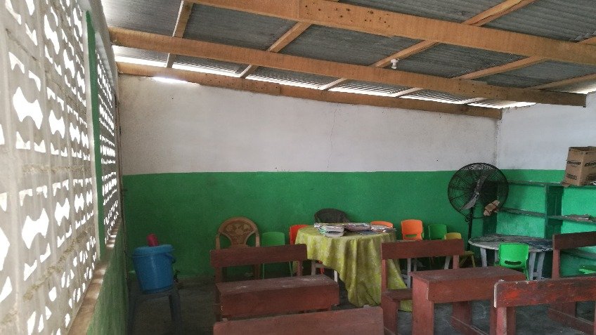 Classroom and library for orphans at JayNii